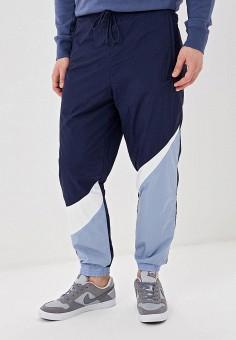 25e10d80 Брюки спортивные, Nike, цвет: синий. Артикул: NI464EMDNFP6. Одежда / Брюки