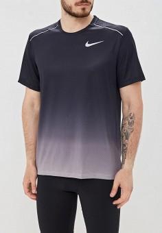 c903cf10 Футболка спортивная, Nike, цвет: серый. Артикул: NI464EMETQI6. Спорт / Бег