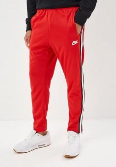 e590f118 Брюки спортивные, Nike, цвет: красный. Артикул: NI464EMETQM3. Одежда / Брюки