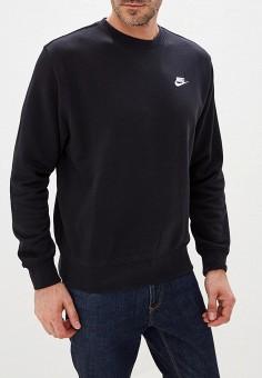 49e9f8ba Свитшот, Nike, цвет: черный. Артикул: NI464EMFLCF1. Одежда / Толстовки и