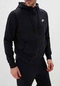 98690697 Толстовка, Nike, цвет: черный. Артикул: NI464EMFLCG7. Одежда / Толстовки и