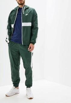 dffa6a65a1c17 Костюм спортивный, Nike, цвет: зеленый. Артикул: NI464EMFLCK1. Одежда /  Спортивные
