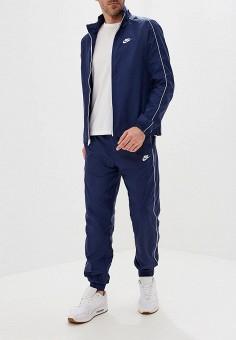 55a86357 Костюм спортивный, Nike, цвет: синий. Артикул: NI464EMFLCK5. Одежда /  Спортивные