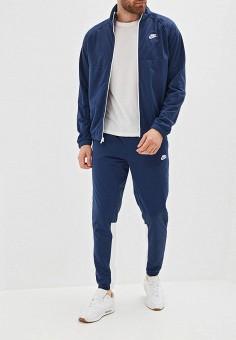 1b703c60 Костюм спортивный, Nike, цвет: синий. Артикул: NI464EMFLCL1. Одежда /  Спортивные
