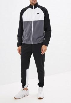 a7ee3da3c3da Костюм спортивный, Nike, цвет: черный. Артикул: NI464EMFLCL7. Одежда /  Спортивные
