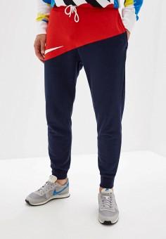21b766829ad91 Брюки спортивные, Nike, цвет: синий. Артикул: NI464EMFLCN0. Одежда / Брюки