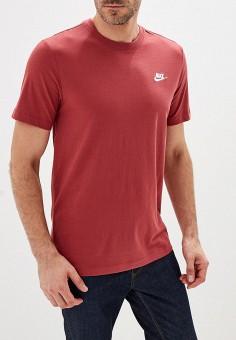 10c5e193294e6 Футболка, Nike, цвет: красный. Артикул: NI464EMFNCM0. Одежда / Футболки и
