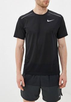 c168e70a Футболка спортивная, Nike, цвет: черный. Артикул: NI464EMFNCQ4. Одежда /  Футболки