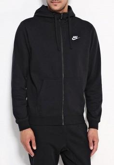 ac1c4348 Толстовка, Nike, цвет: черный. Артикул: NI464EMJFP22. Одежда / Толстовки и