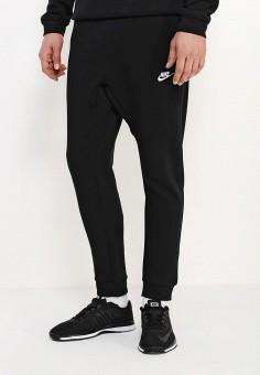 a1832d8b Брюки спортивные, Nike, цвет: черный. Артикул: NI464EMJFP32. Одежда / Брюки