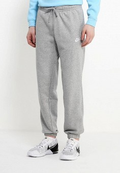 0dca10bf Брюки спортивные, Nike, цвет: серый. Артикул: NI464EMPKO64. Одежда / Брюки