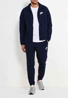 4fba510a Костюм спортивный, Nike, цвет: синий. Артикул: NI464EMUGQ74. Одежда /  Спортивные