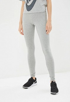 Леггинсы, Nike, цвет  серый. Артикул  NI464EWBWJJ7. Одежда   Брюки   439c5f1b868