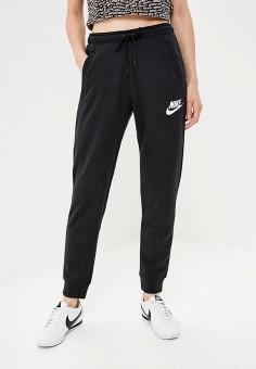 f694ead5 Брюки спортивные, Nike, цвет: черный. Артикул: NI464EWBWJR2. Одежда / Брюки