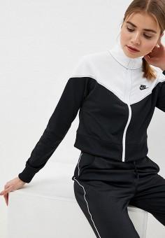 a9735a12 Олимпийка, Nike, цвет: черный. Артикул: NI464EWDNMI7. Спорт / Все спортивные