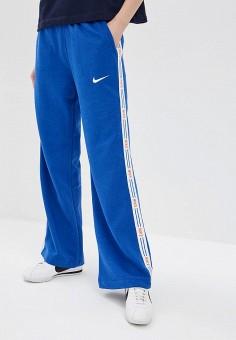 24fbb870 Брюки спортивные, Nike, цвет: синий. Артикул: NI464EWDNND2. Одежда / Брюки