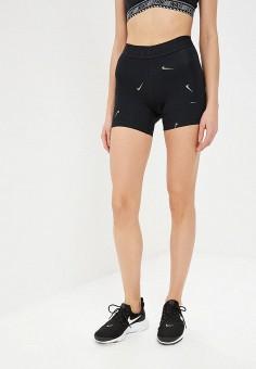 Шорты спортивные, Nike, цвет  черный. Артикул  NI464EWDNOA2. Одежда   Шорты 1de5eef6cbf