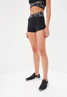 ca664d01 Шорты спортивные, Nike, цвет: черный. Артикул: NI464EWDNOA3. Одежда / Шорты