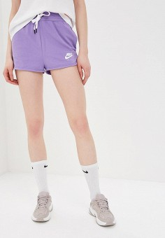 b7712b5e Шорты спортивные, Nike, цвет: фиолетовый. Артикул: NI464EWETRE2. Одежда /  Шорты