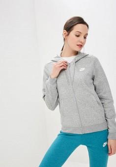 a5163464 Толстовка, Nike, цвет: серый. Артикул: NI464EWETRK8. Одежда / Толстовки и