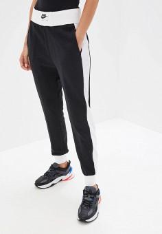 01055ab5 Брюки спортивные, Nike, цвет: черный. Артикул: NI464EWFLDB6. Одежда / Брюки