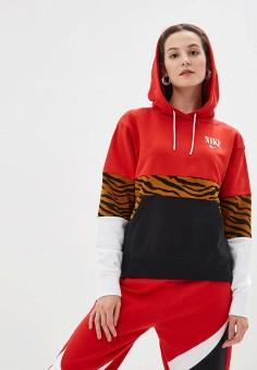 7d809ed58c37 Женские худи Nike — купить в интернет-магазине Ламода