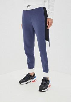 a98c19c0 Брюки спортивные, Nike, цвет: синий. Артикул: NI464EWFNDN3. Одежда / Брюки