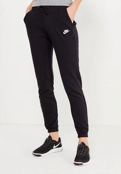 5bd769f3 Брюки спортивные, Nike, цвет: черный. Артикул: NI464EWJFZ68. Одежда / Брюки