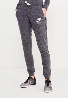 ce276236 Брюки спортивные, Nike, цвет: серый. Артикул: NI464EWRZC10. Одежда / Брюки