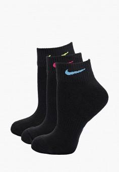 1c1c477853916 Комплект, Nike, цвет: черный. Артикул: NI464FWBWLT9. Одежда / Носки,