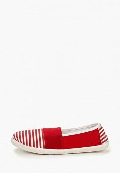 fe9c49461 Слипоны, Nobbaro, цвет: красный. Артикул: NO021AWQVM33. Обувь / Слипоны