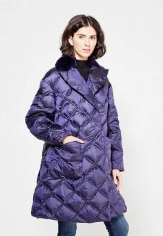 Пуховик, Odri, цвет: синий. Артикул: OD001EWXGF47. Одежда / Верхняя одежда / Зимние куртки