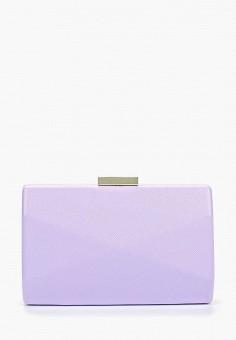 5dfda3fbd319 Клатч, Olga Berg, цвет: фиолетовый. Артикул: OL001BWESIC1. Аксессуары /  Сумки