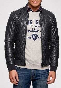 67794f89610 Купить синие мужские кожаные куртки от 3 040 руб в интернет-магазине ...