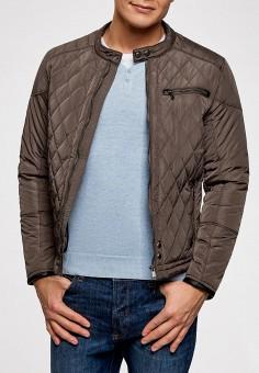 54d0e02d8a706 Куртка утепленная, oodji, цвет: серый. Артикул: OO001EMAMYJ9. Одежда /  Верхняя