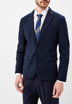 54e713cef50a Пиджак, oodji, цвет  синий. Артикул  OO001EMAUML4. Одежда   Пиджаки и