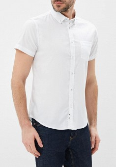 4bdd1cc881f74ce Рубашка, oodji, цвет: белый. Артикул: OO001EMBFJL3. Одежда / Рубашки