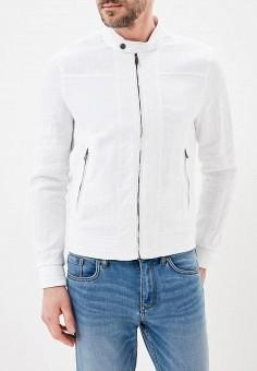 b28f6d39 Куртка, oodji, цвет: белый. Артикул: OO001EMBIJP8. Одежда / Верхняя одежда