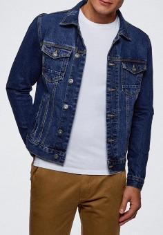 e249e4ecfd3c2 Куртка джинсовая, oodji, цвет: синий. Артикул: OO001EMCMJA8. Одежда /  Верхняя