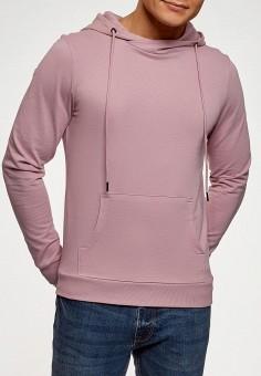 53a410b9 Худи, oodji, цвет: розовый. Артикул: OO001EMFAAR4. Одежда / Толстовки и