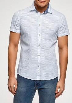 c2c427860f3fb34 Рубашка, oodji, цвет: белый. Артикул: OO001EMFDUE8. Одежда / Рубашки