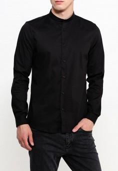 12610623ac09d2d Купить черные мужские рубашки с длинным рукавом от 535 руб в ...