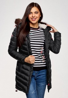 Купить черные женские пуховики от 2 390 руб в интернет-магазине ... c18313f0d4c