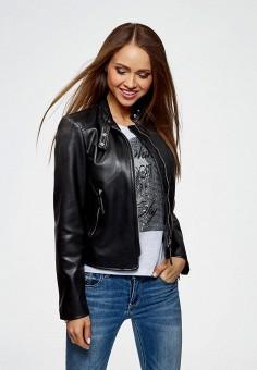1ed197b6d53 Купить женские кожаные куртки Oodji (Оджи) от 1 899 руб в интернет ...