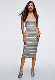 687de6cd696 Купить повседневные платья а-силуэта прямые Oodji (Оджи) от 299 руб ...