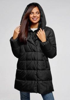 397ac23a18026 Куртка утепленная, oodji, цвет: черный. Артикул: OO001EWDCFU1. Одежда /  Верхняя