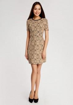 7cfbf0a014a Купить бежевые коктейльные платья от 599 руб в интернет-магазине ...