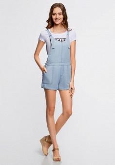 Купить женские джинсовые комбинезоны от 599 руб в интернет-магазине  Lamoda.ru! 841dd577b58b3
