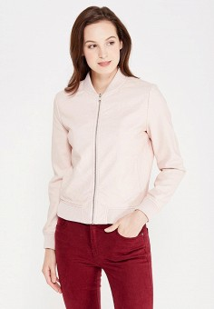 487e61e02ce0 Куртка кожаная, oodji, цвет  розовый. Артикул  OO001EWWQB65. Одежда    Верхняя