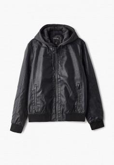 2a492d061 Куртка кожаная, O'stin, цвет: черный. Артикул: OS004EMEUZI8